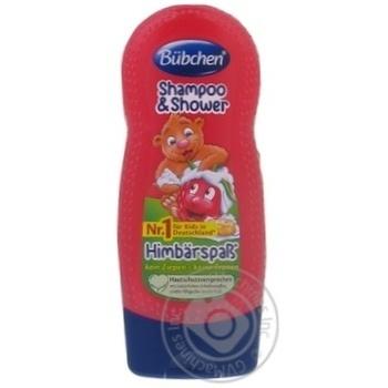 Шампунь детский Bubchen Ведмедикова малина для мытья волос и тела 230мл - купить, цены на Таврия В - фото 3