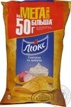Chips Lux with taste of sour cream 183г