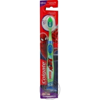 Colgate Ultimate Barbie/Spiderman For Children 5+ Toothbrush - buy, prices for Furshet - image 2
