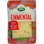Cheese emmental Arla hard 150g