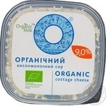 Organic milk Organic cottage cheese 9% 300g