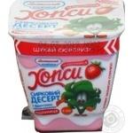 Десерт творожный Хопси клубника 4,8% ст 150г