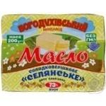 Масло Богодухівський молзавод Селянське солодковершкове 73% 200г