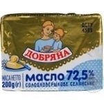 Butter Dobriana Peasant style sweet cream 72.5% 200g