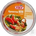 Seafood shrimp Vici Mini with spicinesses pickled 340g