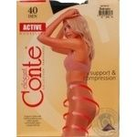 Tights Conte polyamide for women 40den 3size