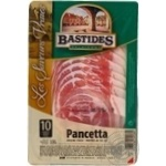 Sausage Bastides pork raw cured 100g France