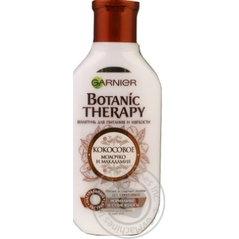 Шампунь Garnier Botanic Therapy Кокосовое молоко и макадамия 250мл - купить, цены на Novus - фото 3