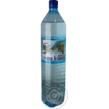 Вода Поляна Квасова Маргит минеральная сильногазированная 1,5л - купить, цены на МегаМаркет - фото 1