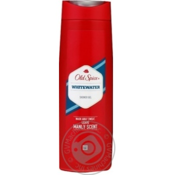 Гель для душа Old Spice WhiteWater 400мл