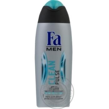 Гель для душа Fa Men Clean Pulse 3в1 250мл - купить, цены на Novus - фото 3