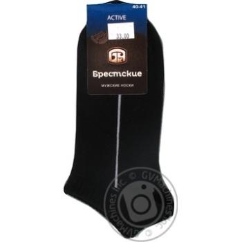 Brest Active Men's Ultrashort Black Socks Size 25 40-41 - buy, prices for CityMarket - photo 3