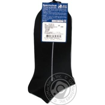 Brest Active Men's Ultrashort Black Socks Size 25 40-41 - buy, prices for CityMarket - photo 2