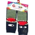 Шкарпетки дитячі Conte Kids веселі ніжки 17С-10СП, розмір 18, 336 темний джинс
