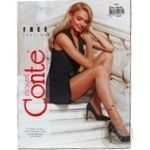 Tights Conte bronze for women 20den 2size