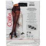 Колготки жіночі Conte Elegant Fantasy Impress 20 den розмір 3, nero - купить, цены на Novus - фото 3
