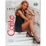 Tights Conte bronze for women 20den 4size