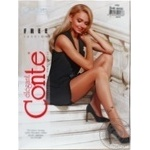 Tights Conte bronze for women 20den 3size