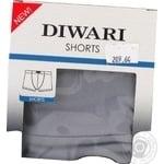 Труси чоловічі DiWaRi Basic Msh 127, розмір 102,106/XL, fumo