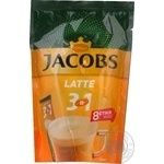 Jacobs 3in1 Latte instant coffee 8pcs*13g
