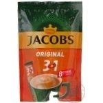 Jacobs 3in1 Original instant coffee 8pcs*12g