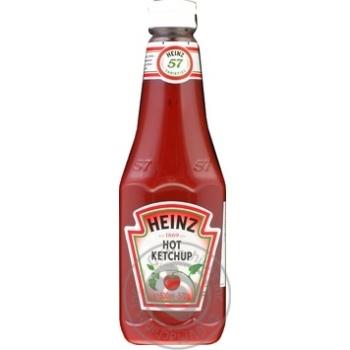 Кетчуп Heinz Томатный острый 500мл