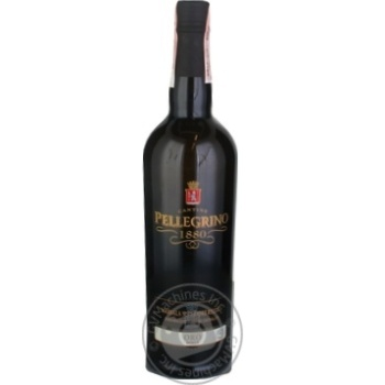 Вино Cantine Pellegrino Marsala Superiore Riserva біле солодке 18% 0.75л - купити, ціни на Novus - фото 1