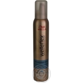 Мусс для волос WELLAFLEX Мгновенный объем сильная фиксация 200мл - купить, цены на Метро - фото 5