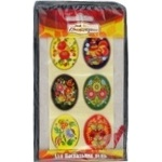 Easter Egg Stickers assortment - buy, prices for Furshet - image 1