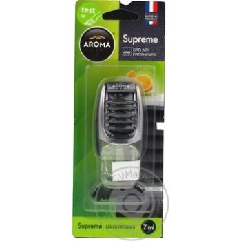Ароматизатор Aroma Car Supreme Лимон 7мл - купити, ціни на МегаМаркет - фото 2