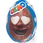 Яйцо Ozmo Egg Faces с молочным щоколадом и сюрпризом 20г