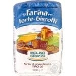 Мука Molino Grassi Torte e Biscotti Tipo 00 из мягких сортов пшеницы 1кг