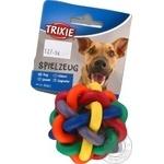Игрушка Trixie Мяч-клубок резиновый для собак 7см