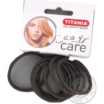 Защіпка Titania для волосся 9шт Art.7810 х6 - купити, ціни на МегаМаркет - фото 1