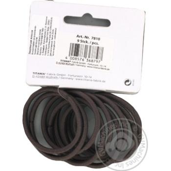 Защіпка Titania для волосся 9шт Art.7810 х6 - купити, ціни на МегаМаркет - фото 2