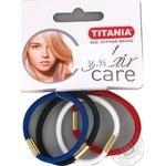 Защіпка Titania для волосся 4шт Art.8014 х6