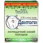 Зубний порошок Дентогін від карієсу 65г