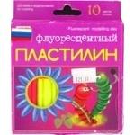 Luch Fluorescent Plasticine 10 Colors 132g