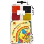 Краски Тетрада акварельные медові 10 цветов