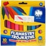 Фломастеры Astra цветные 10шт