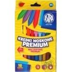 Astra pencils wax 18 colors