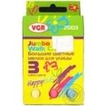 Мел VGR цветная для улицы 3шт