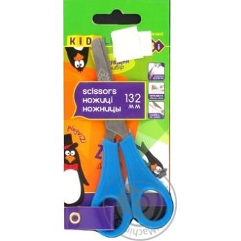 Ножницы Zibi детские с линейкой 132мм - купить, цены на Пчёлка - фото 6
