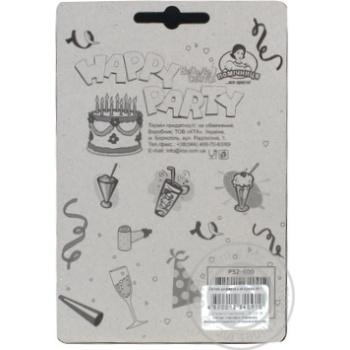Свічки для торту Помічниця циферка з клоуном 1, 8см - купить, цены на Novus - фото 2