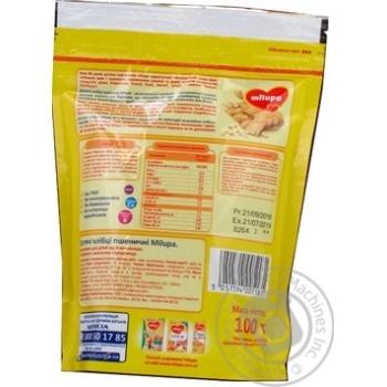 Хлебцы детские Milupa пшеничные 100г - купить, цены на МегаМаркет - фото 3