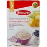 Pap Semper corn with blueberries for children from 6 months 250g