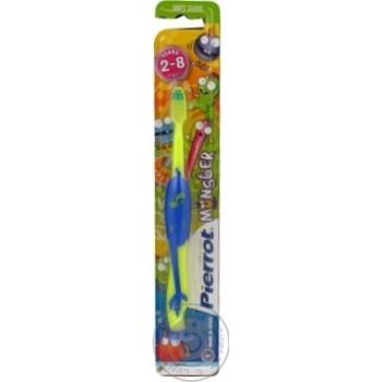 Зубна щітка Pierrot дитяча Монстр х12 - купить, цены на МегаМаркет - фото 2