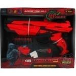 Іграшкова зброя Бластер 6 зарядний зі світлом QUNXING TOYS