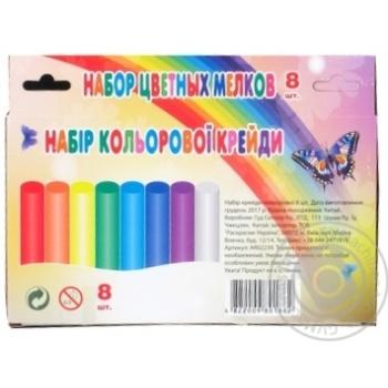Набір крейди кольорової Астра Д. AR02239 - купить, цены на Фуршет - фото 2