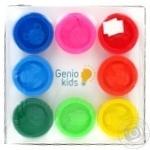 Набір для ліпки Тісто-пластилін 8 кол. Genio Kids-Art